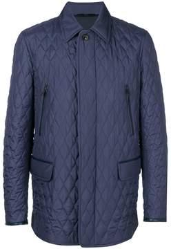 Brioni concealed fastening coat