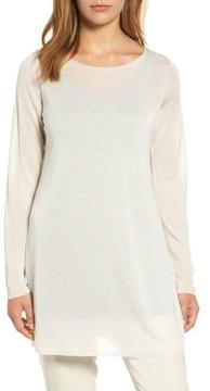 Eileen Fisher Women's Side Slit Tencel Tunic