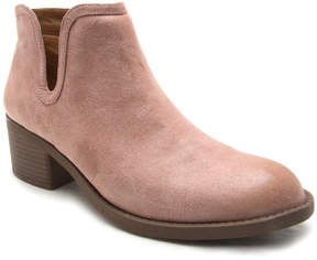 Qupid Mauve Philly Bootie - Women