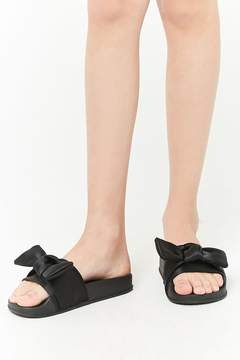 Forever 21 Girls Steve Madden Twist Slide Sandals (Kids)