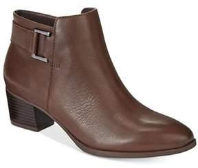 Alfani Womens Adisonn Leather Closed Toe Ankle Fashion Boots.