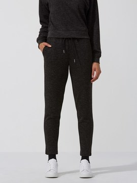 Frank and Oak Heavy-Fleece Tapered Sweatpant in Carbon Heather