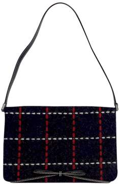 Kate Spade Small Navy, Red & White Plaid Stitched Bag - NAVY - STYLE