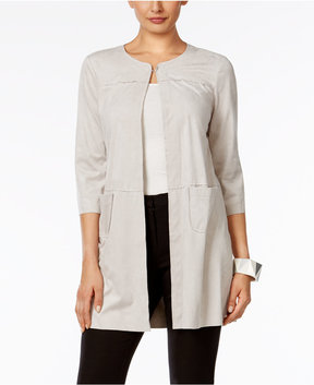 Alfani Faux-Suede Jacket, Created for Macy's