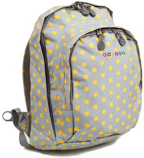 J World Gray & Yellow Dots Lakonia Backpack