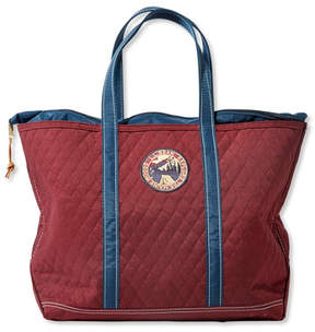 L.L. Bean Quilted Patch Boat and Tote