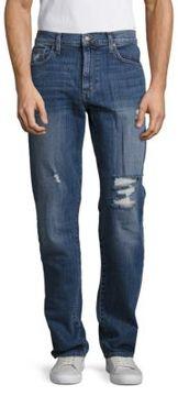 Joe's Jeans Cotton-Blend Distressed Jeans