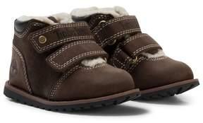 Timberland Dark Brown Velcro Pokey Pine Shoes