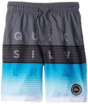 Quiksilver Word Block Volley Shorts Boy's Swimwear