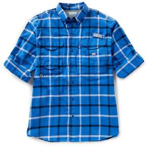 Columbia PFG Bonehead Plaid Flannel Shirt