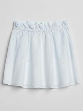 Gap Stripe Paperbag Waist Skirt