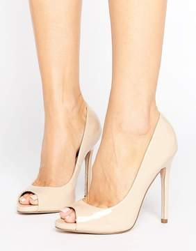 Asos PRAISE Peep Toe High Heels