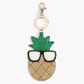 J.Crew Girls' pineapple emoji keychain