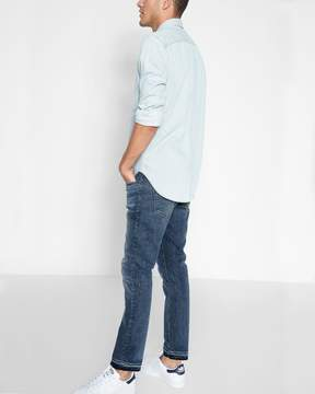 7 For All Mankind Cropped Paxtyn Skinny with Released Hem in Timelapse