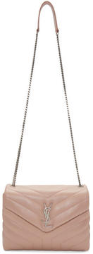 Saint Laurent Pink Small LouLou Chain Bag