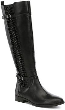 Gianni Bini Kaine Side Twist Detail Block Heel Riding Boots