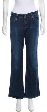 Adriano Goldschmied Wide-Leg Mid-Rise Jeans