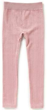 Copper Key Big Girls 7-16 Cable-Knit Leggings