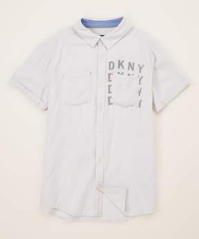 DKNY Vapor Just Chillin Button-Up - Toddler & Boys