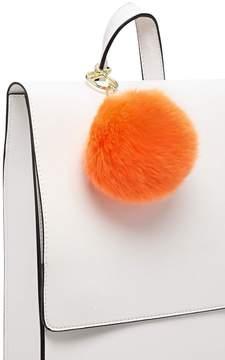 Forever 21 Faux Fur Pom Pom Keychain