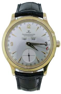 Jaeger-LeCoultre Jaeger LeCoultre Master 18K Yellow Gold Mens Watch