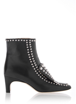 Sergio Rossi SR1 Studded Ankle Boots
