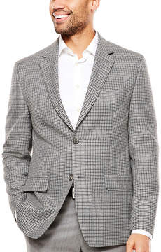 Izod Classic Fit Woven Checked Sport Coat