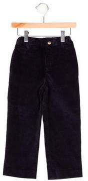 Oscar de la Renta Boys' Corduroy Flat Front Pants