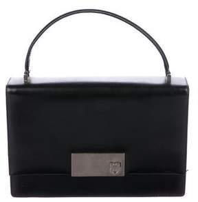 Salvatore Ferragamo Gancio Leather Handle Bag