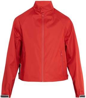 Prada Resin-coated technical jacket