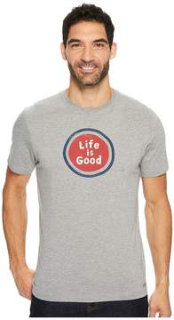 Life is Good Sphere Crusher Tee Men's Short Sleeve Pullover