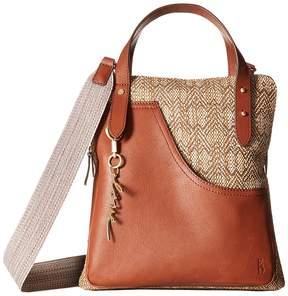ED Ellen Degeneres Carmel Crossbody Cross Body Handbags