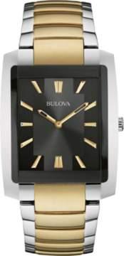 Bulova Classic Collection 98A149 Silver/Gold Analog Quartz Men's Watch