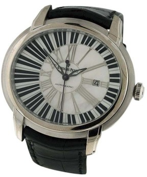Audemars Piguet Millenary 18K White Gold Leather & MOP 45mm x 40mm Watch