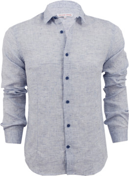 Orlebar Brown Morton Linen Shirt