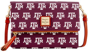 Dooney & Bourke Texas A & M Aggies Foldover Crossbody Purse