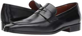 Matteo Massimo Mocc Toe Penny Men's Slip on Shoes