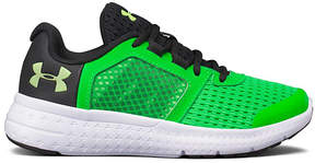 Under Armour Forest Green Preschool Micro G Fuel Running Shoe - Boys