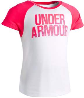 Under Armour Girls 4-6x Raglan Tee