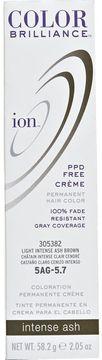 Ion 5AG Light Intense Ash Brown Permanent Creme Hair Color