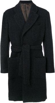 Giorgio Armani tailored button-down coat