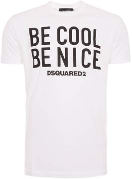 DSQUARED2 Be Cool Be Nice T-shirt
