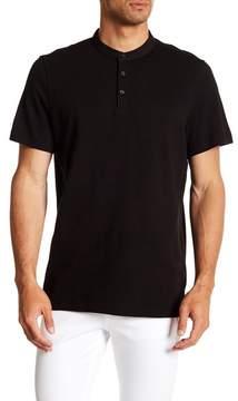 Kenneth Cole New York Waffle Knit Henley Shirt