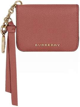 Burberry Camberwell Card Case and Charm - RED - STYLE
