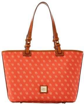 Dooney & Bourke Gretta Small Leisure Shopper Tote - ORANGE PEACH - STYLE