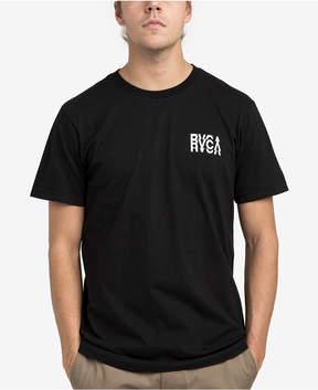 RVCA Men's Disrupt Logo Print T-Shirt