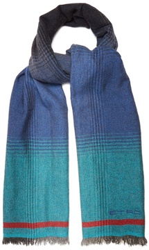 Etro Wool and cashmere-blend scarf