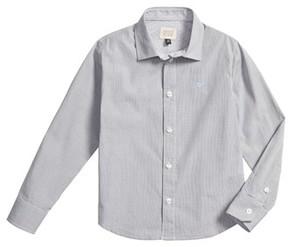 Armani Junior Boy's Stripe Dress Shirt