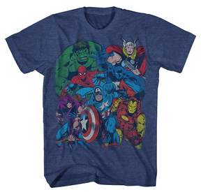 Marvel Boys' Graphic T-Shirt - Navy Heather
