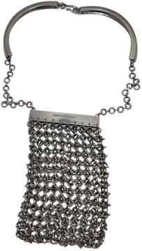Paco Rabanne Vintage Silver Metal Handbag